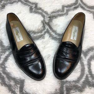 Mezlan Black Balmoral Loafers 8 M